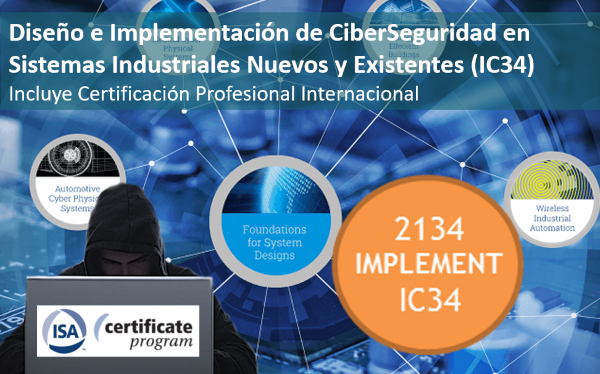 IC34 Course: Design and implementation of Cybersecurity in new and